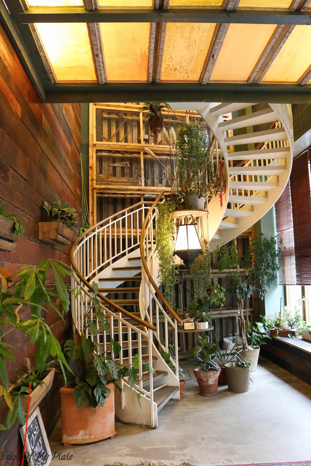 Upon entering little house of wonder you feel like you are transported to a different place its got a very calm atmosphere with a staircase winding its